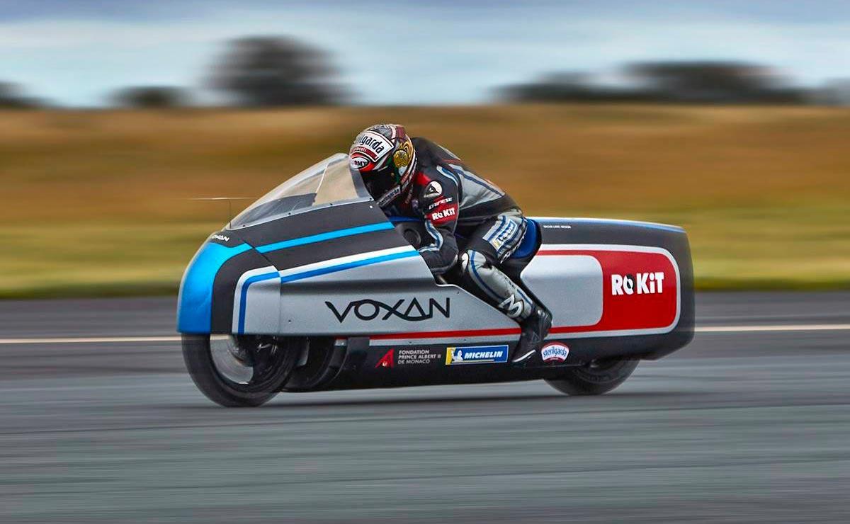 La moto más rápida del mundo Voxan Wattman Max Biaggio