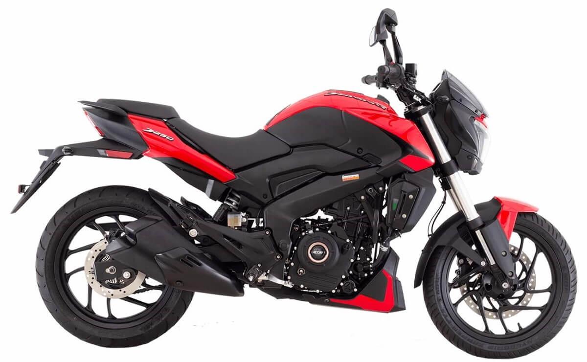 Mejores motos de baja cilindrada para viajar Bajaj Dominar 250