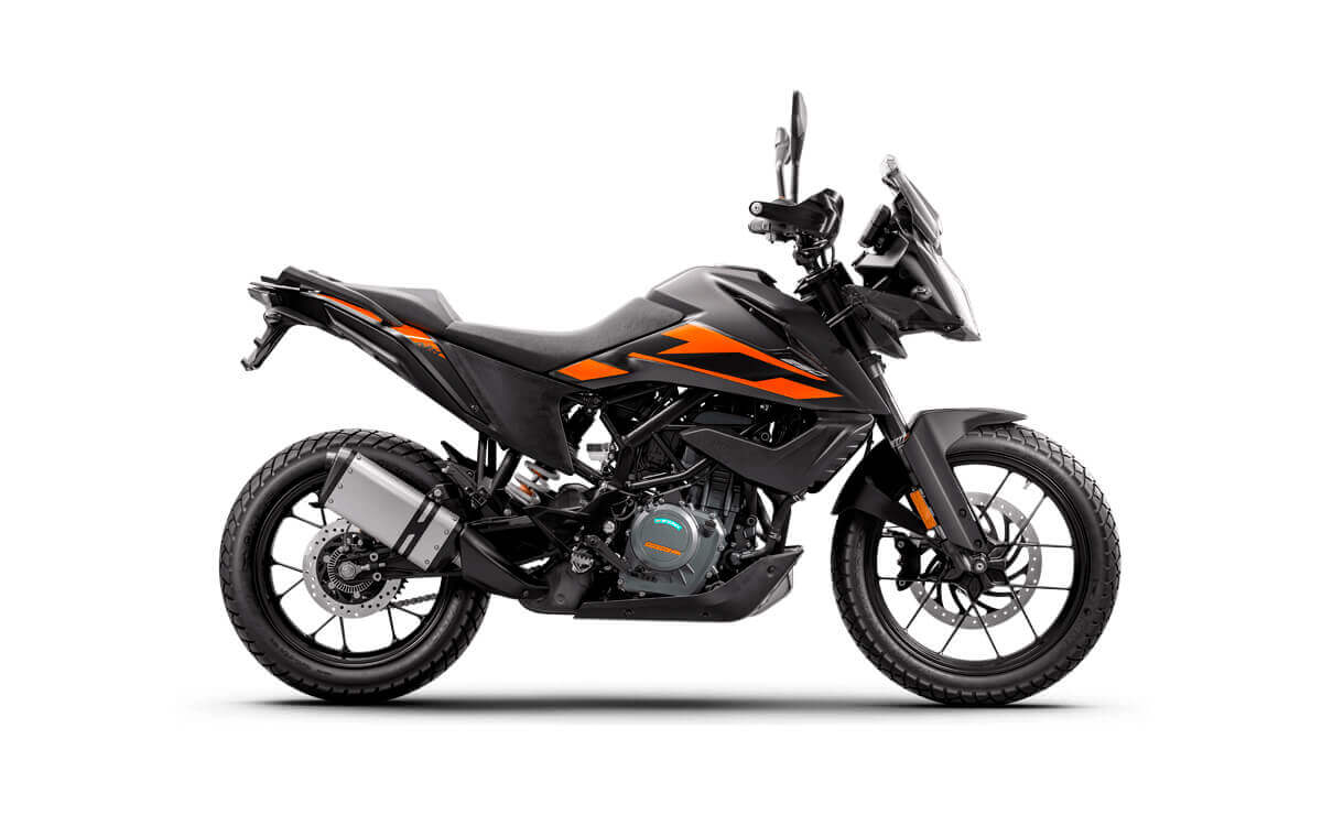 Mejores motos de baja cilindrada para viajar KTM 250 Adventure