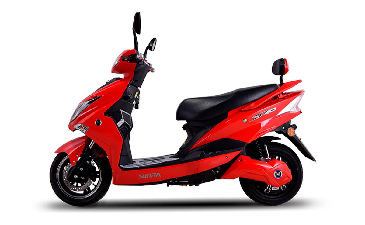5 Mejores motos electricas de Argentina Sunra Hawk