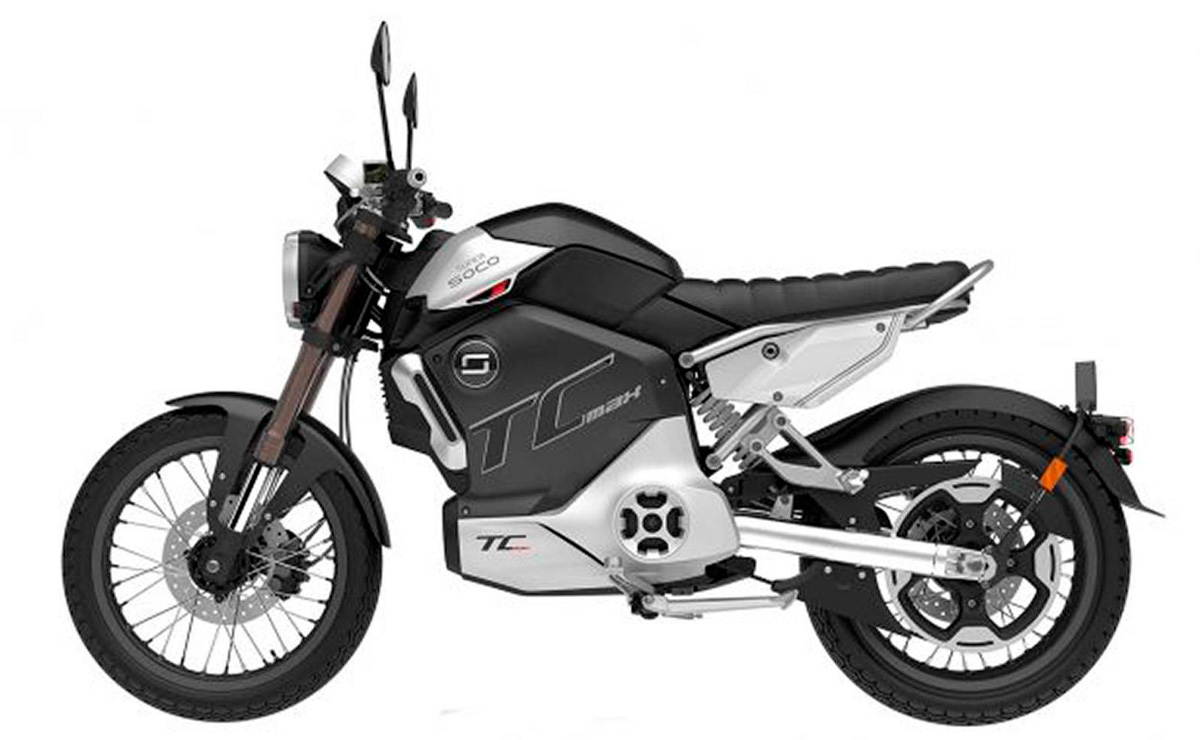 5 Mejores motos electricas de Argentina Super Soco TC Max
