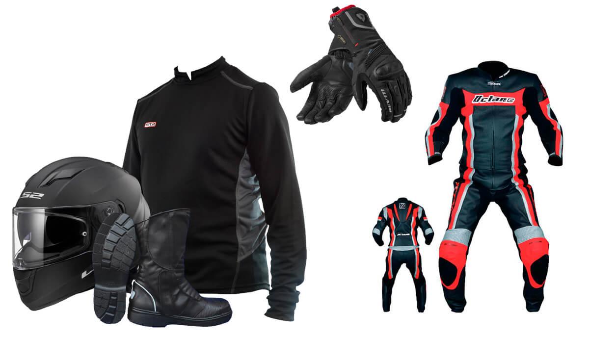Que llevar para viajar en moto indumentaria