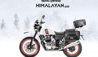 Royal Enfield Himalayan 650 render