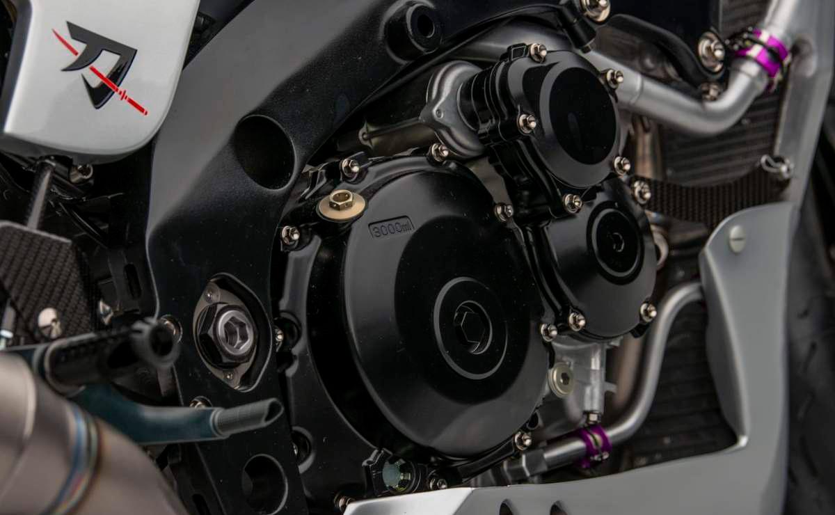 Suzuki Katana GSX-R 1000 detalle motor