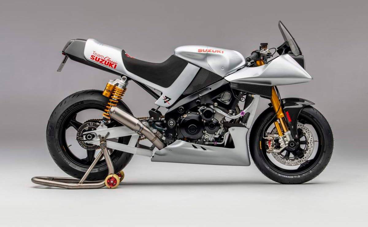 Suzuki Katana GSX-R 1000 lateral derecho