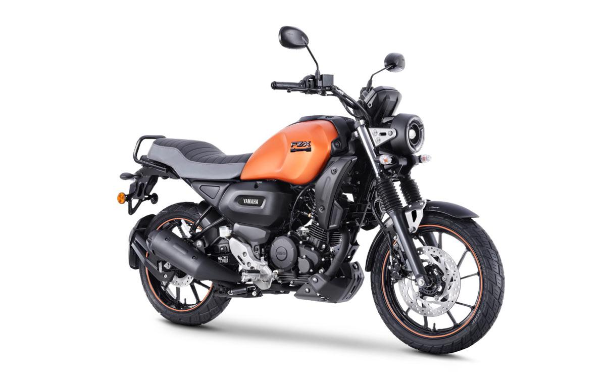 Yamaha FZ-X naranja