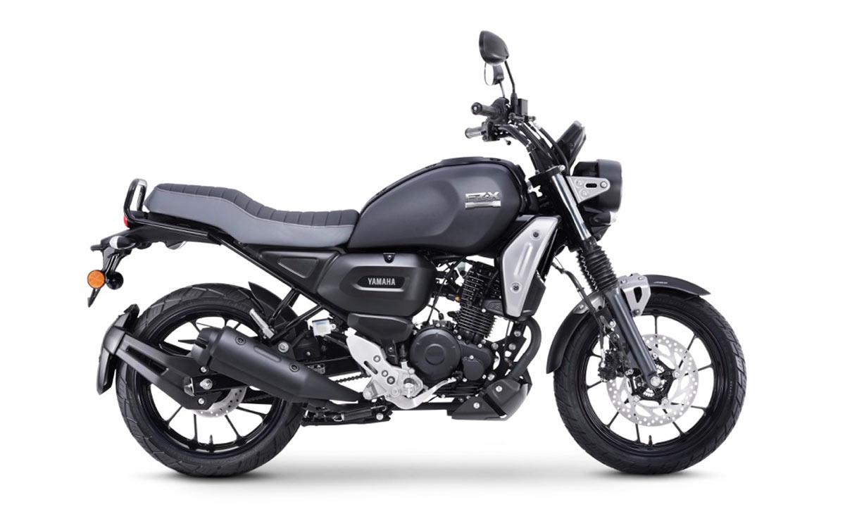 Yamaha FZ-X negra lateral derecho