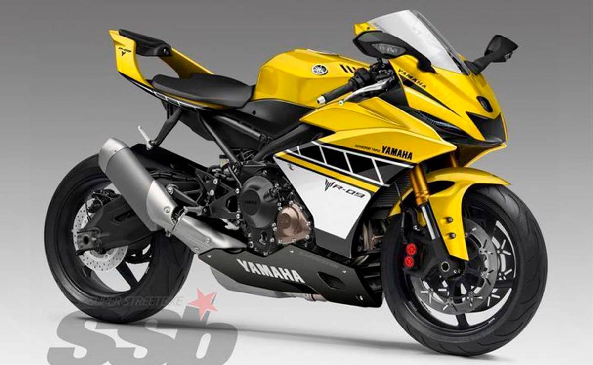Yamaha R9 amarilla