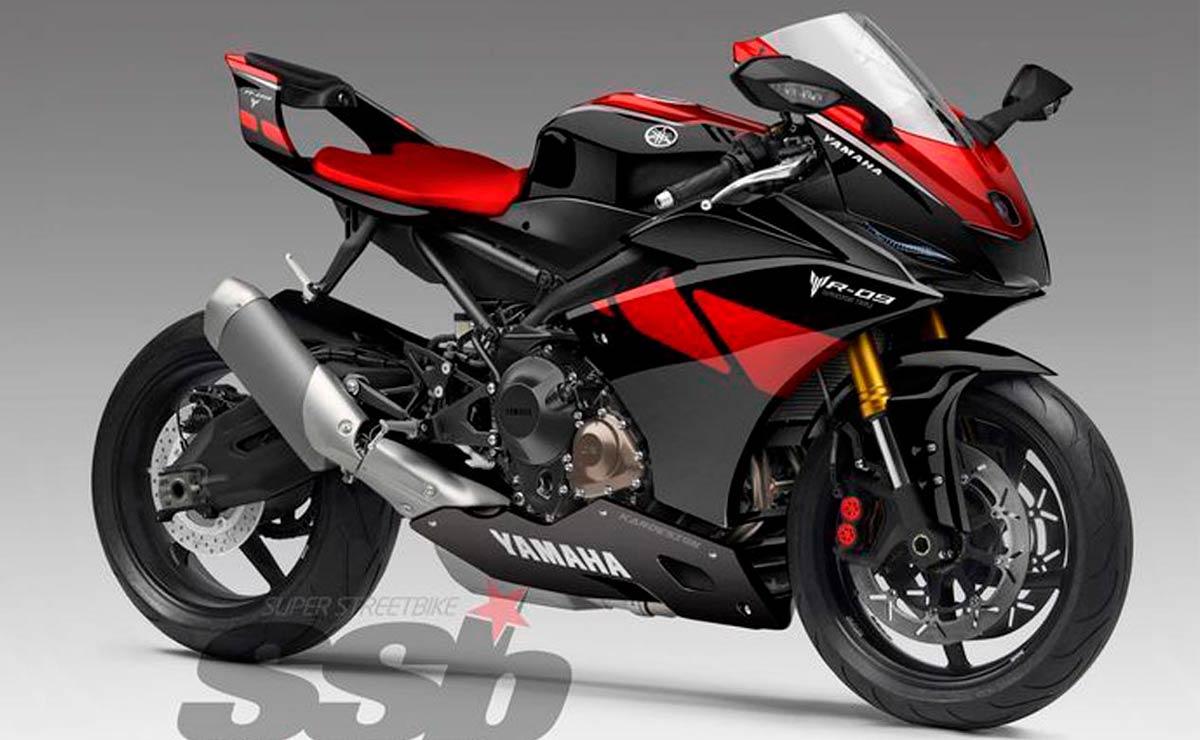 Yamaha R9 roja