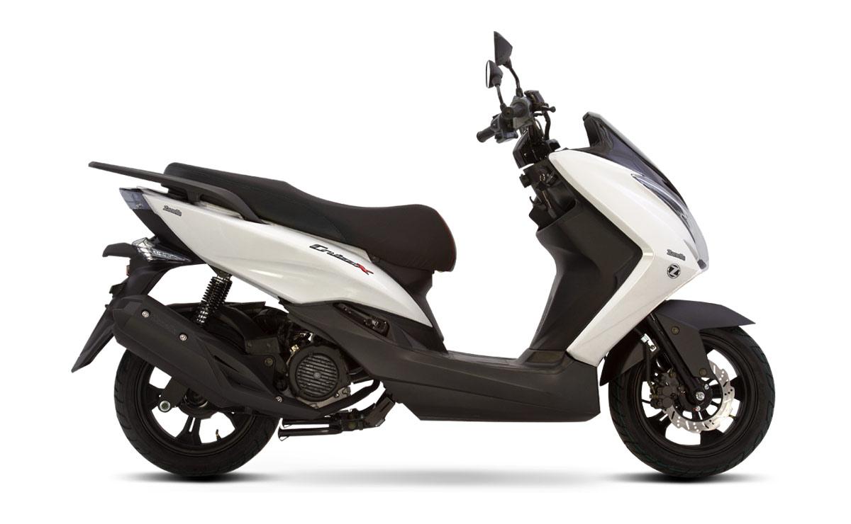 Zanella scooter Cruiser X blanco