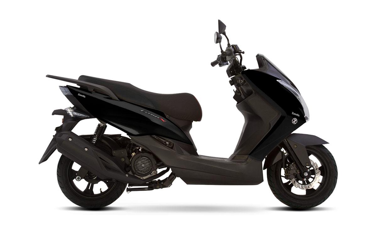 Zanella scooter Cruiser X negro