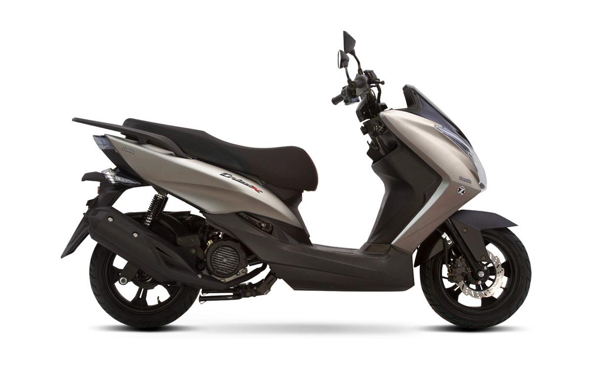 Zanella scooter Cruiser X titanium