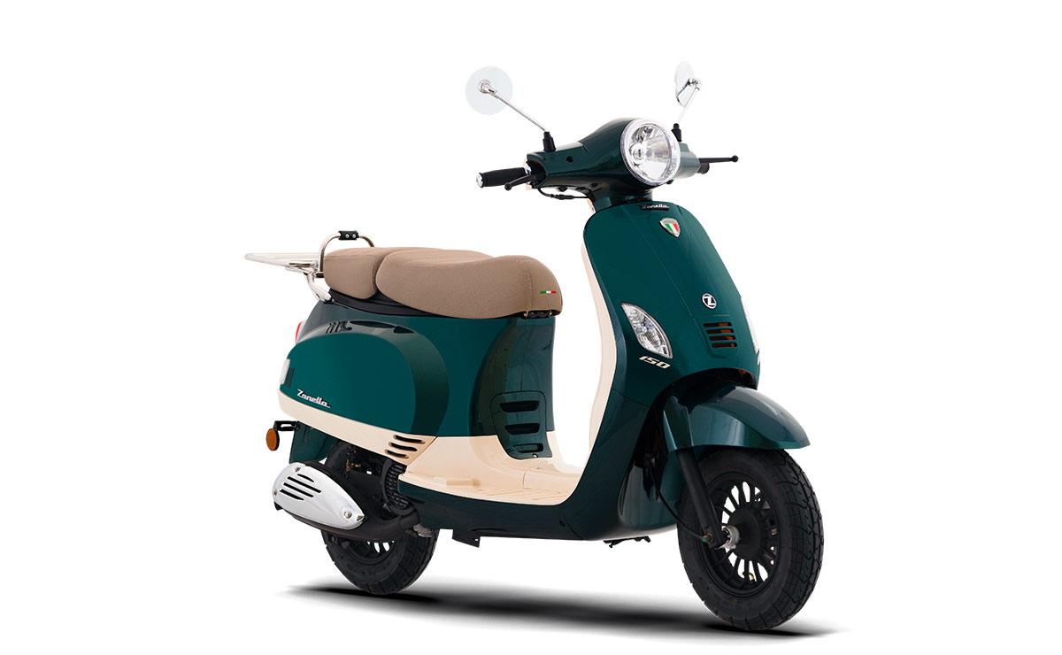 Zanella scooter Exclusive LT verde