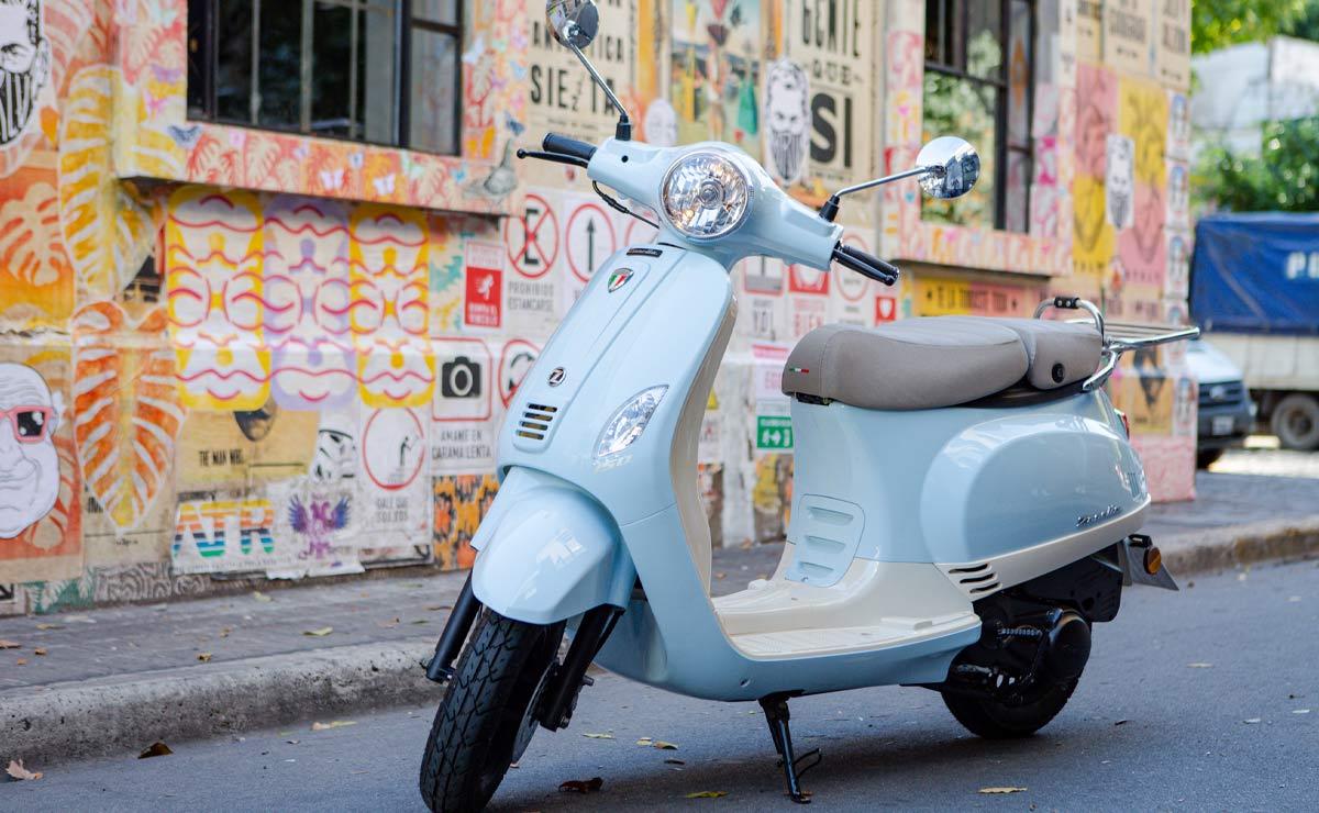 Zanella scooter accion detenida