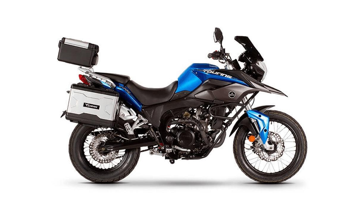 Corven 250 Touring azul usada