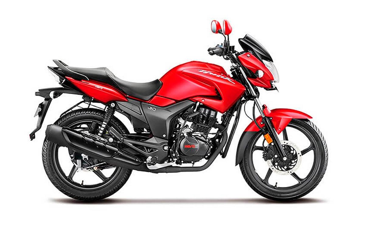 mejores motos de 150cc en Argentina Hero Hunk