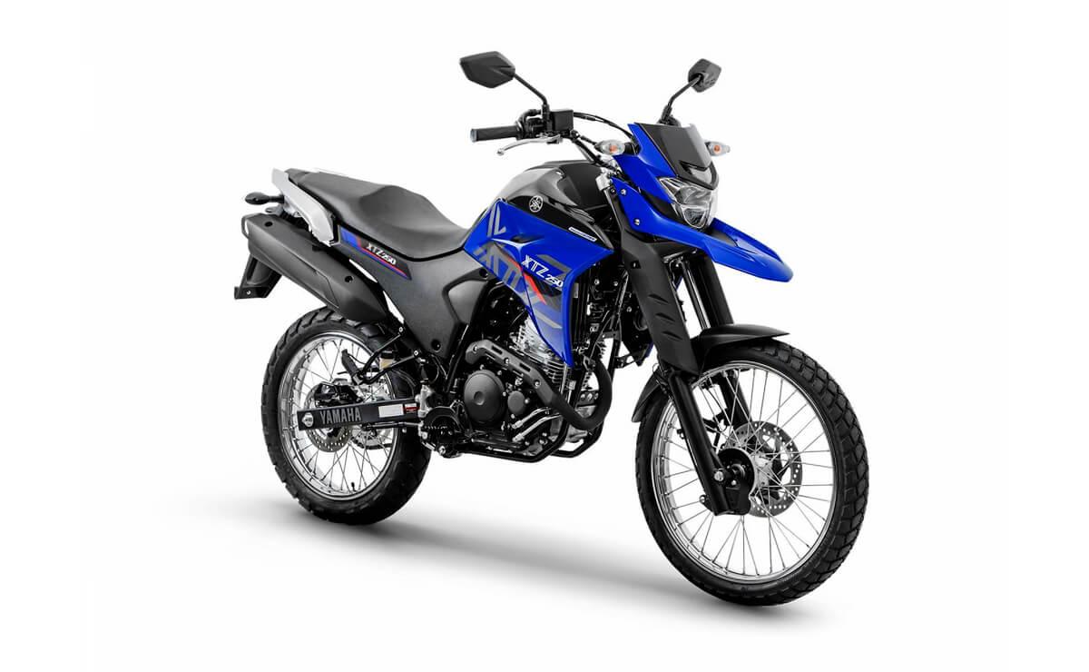 mejores motos de baja cilindrada para viajar Yamaha XTZ 250
