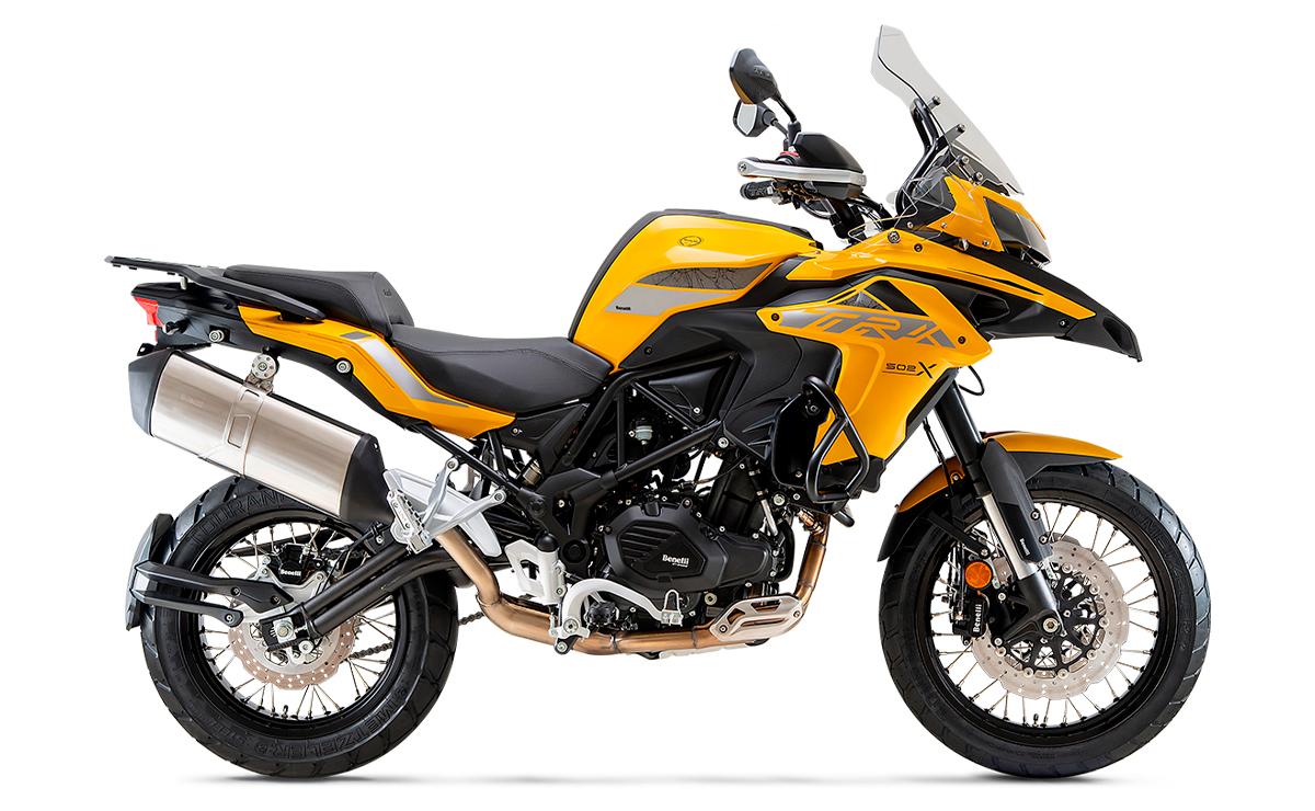 motos mas vendidas arriba de los 5.000 dólares BENELLI TRK 502X