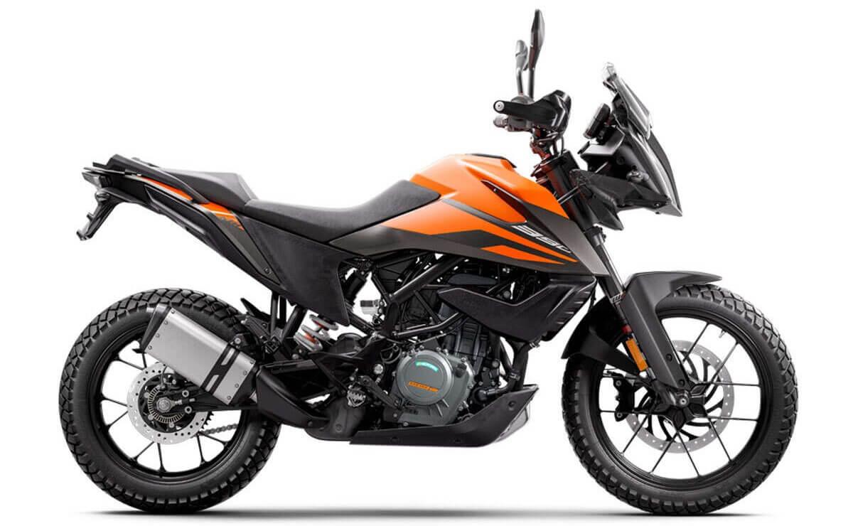 motos mas vendidas arriba de los 5.000 dólares KTM 390 Adventure