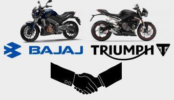 Bajaj Triumph acuerdo colaboración