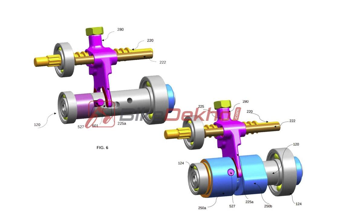 Bajaj motor válvulas imagen 1