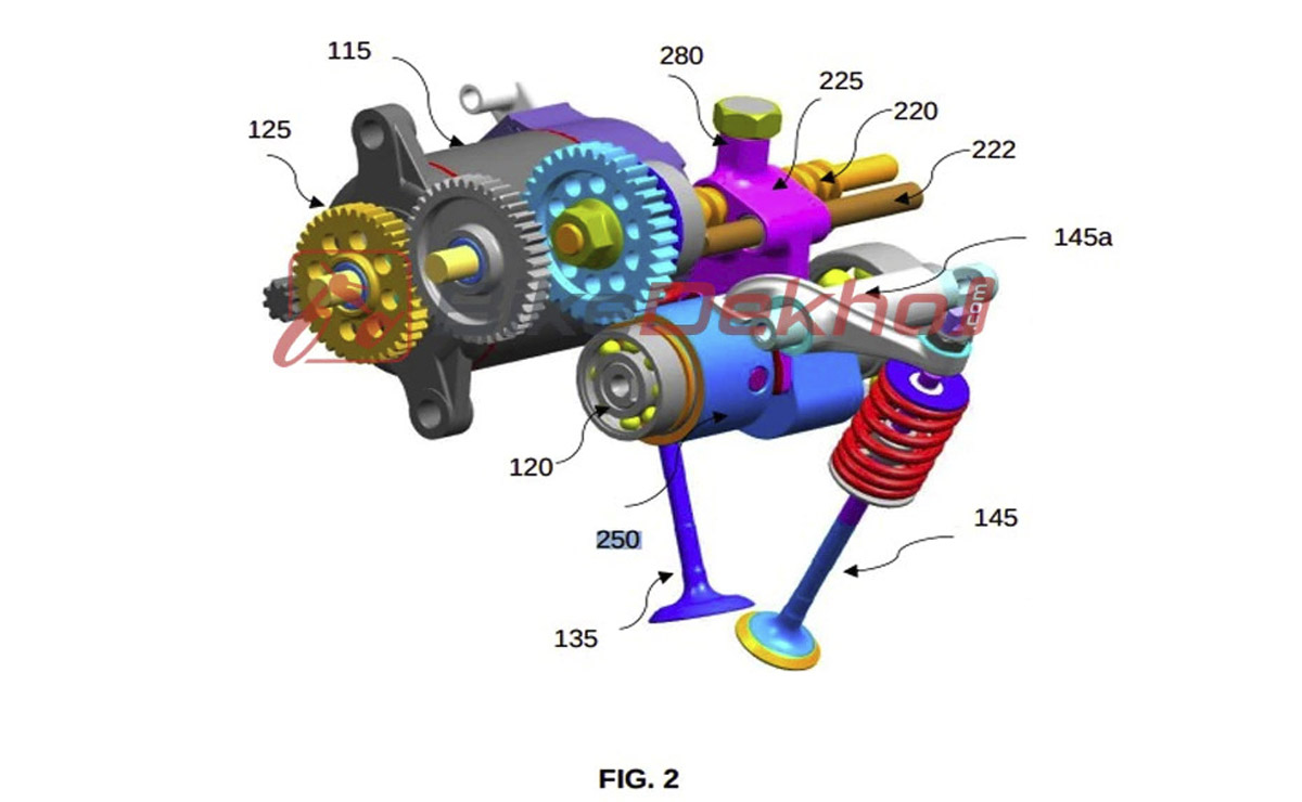 Bajaj motor válvulas imagen 2