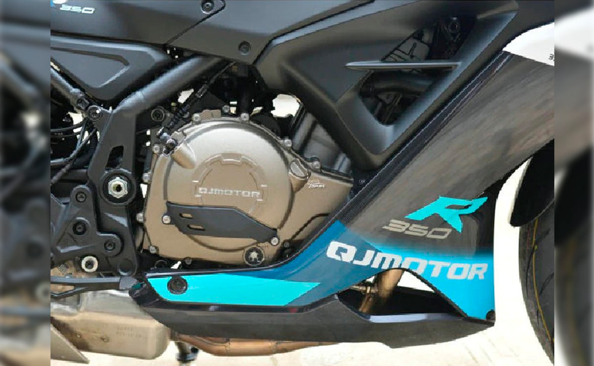 Hermana Benelli QJ Sai 350 motor
