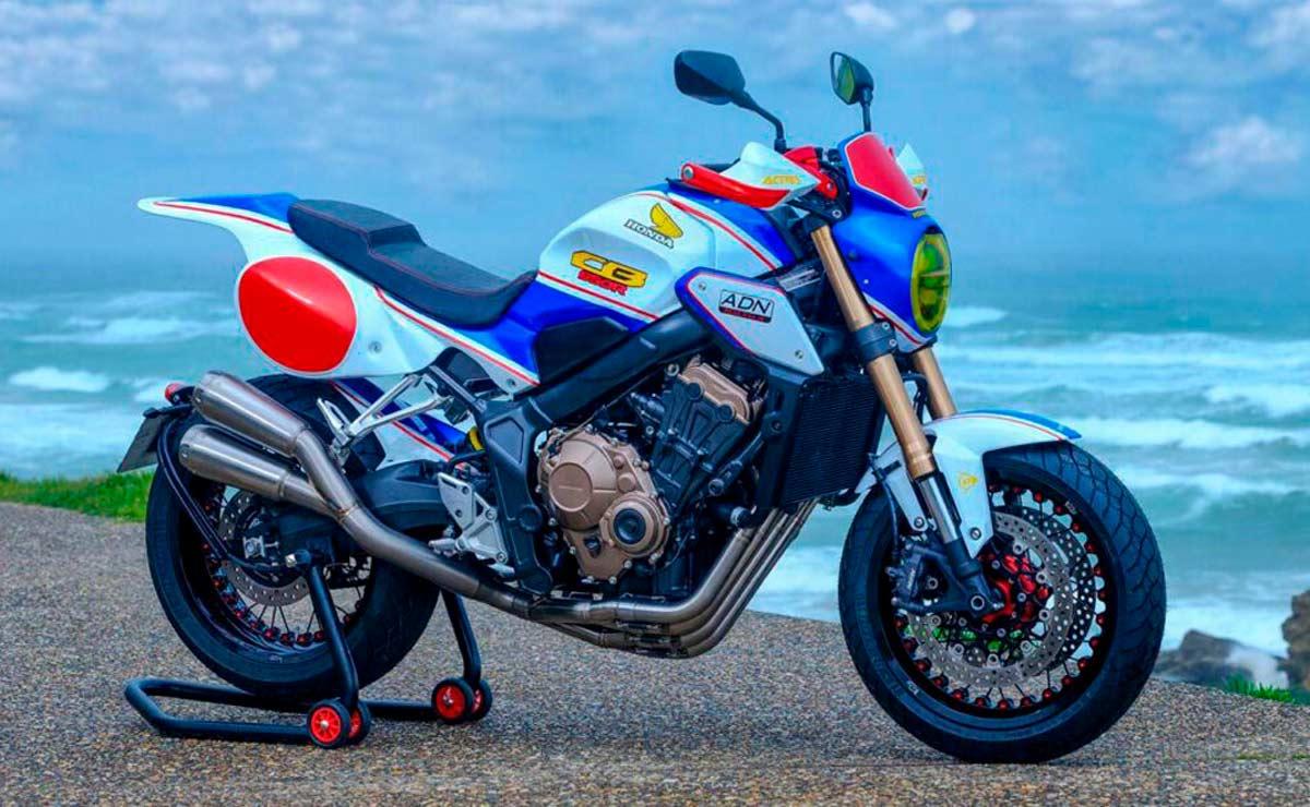 Honda CB650R Flat Tracker