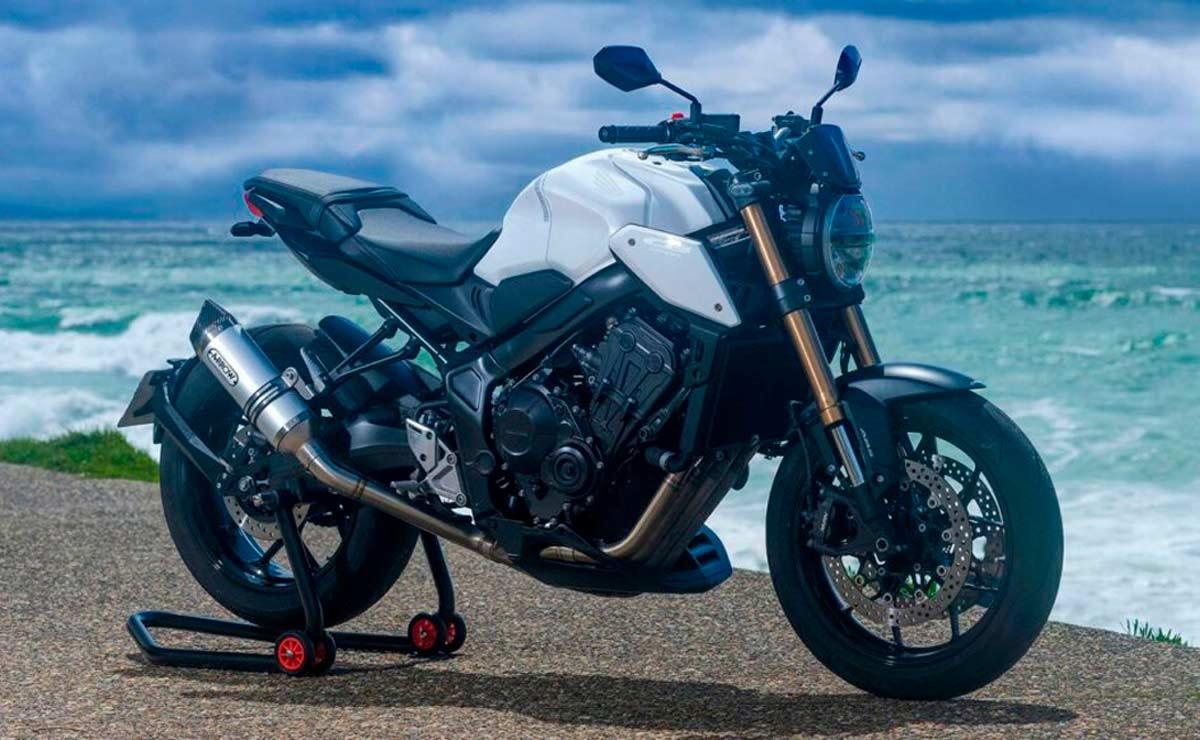 Honda CB650R White