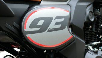 Honda CBF190TR detalle 93 lateral
