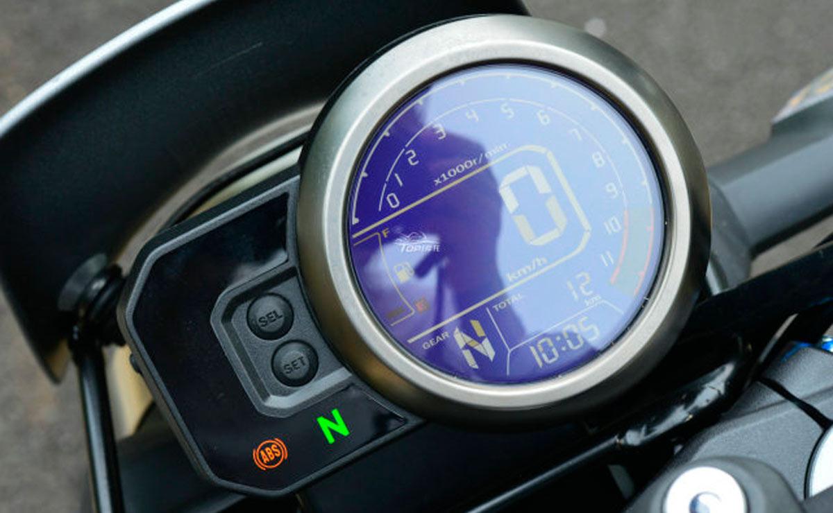 Honda CBF190TR pantalla instrumental