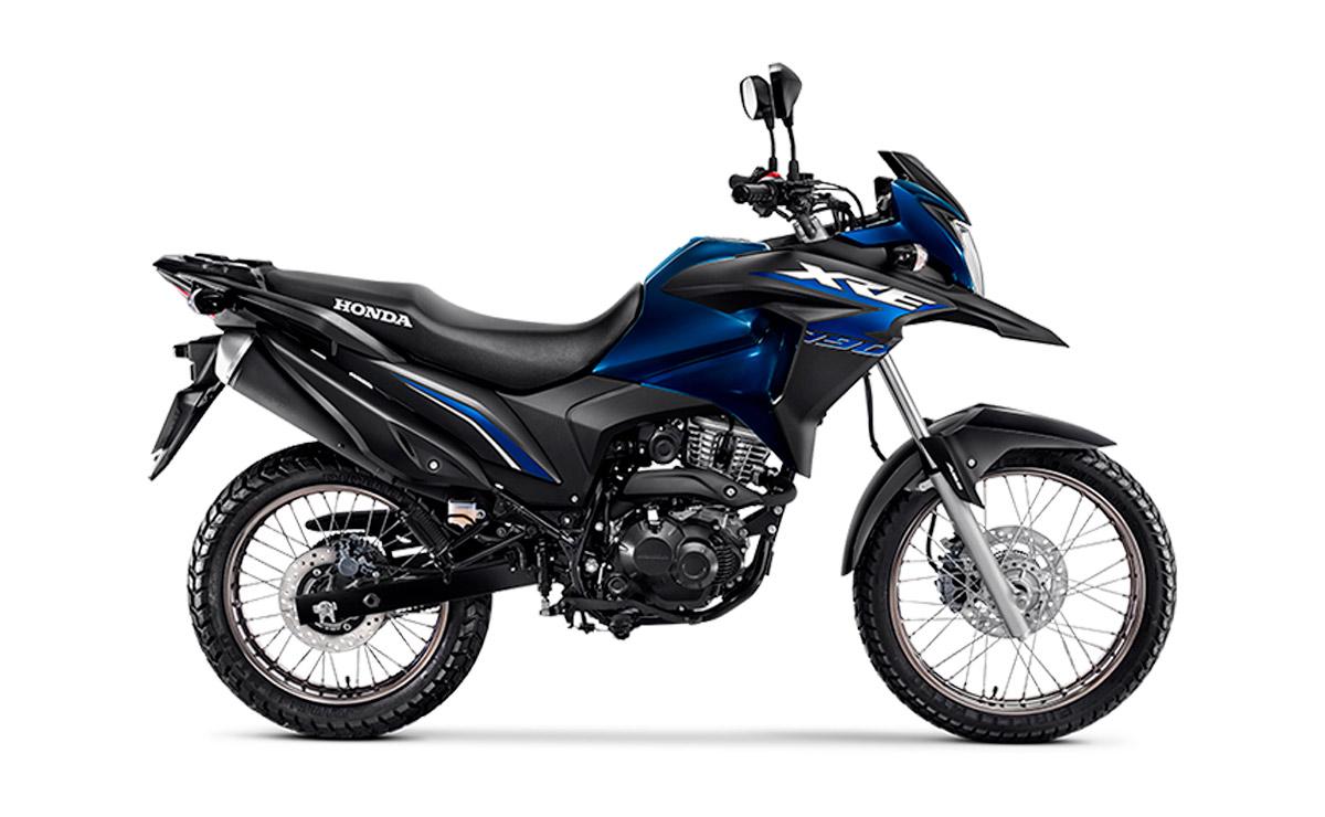 Honda XRE 190 azul