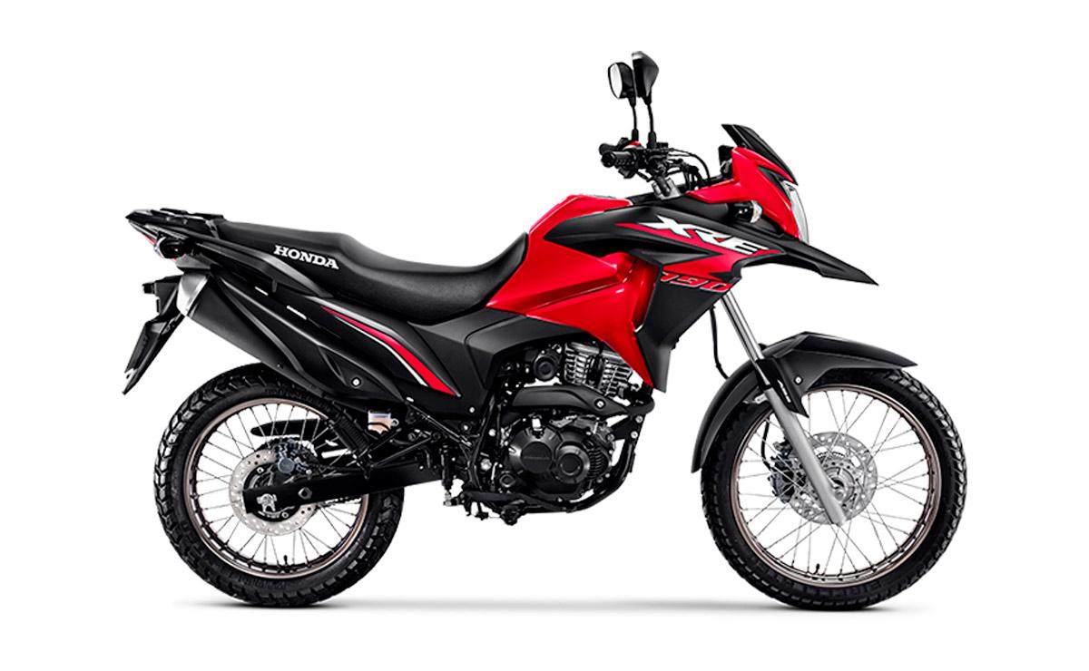 Honda XRE 190 roja