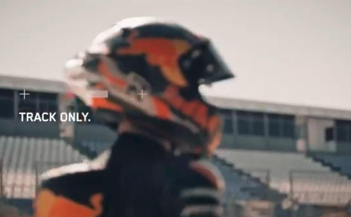 KTM Moto2 solo para pista
