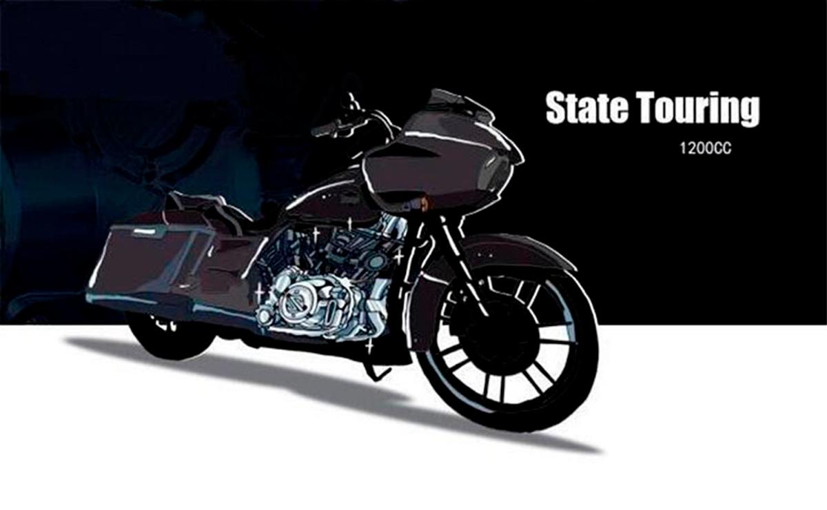 Motor chino atención Harley-Davidson modelo touring 1200cc