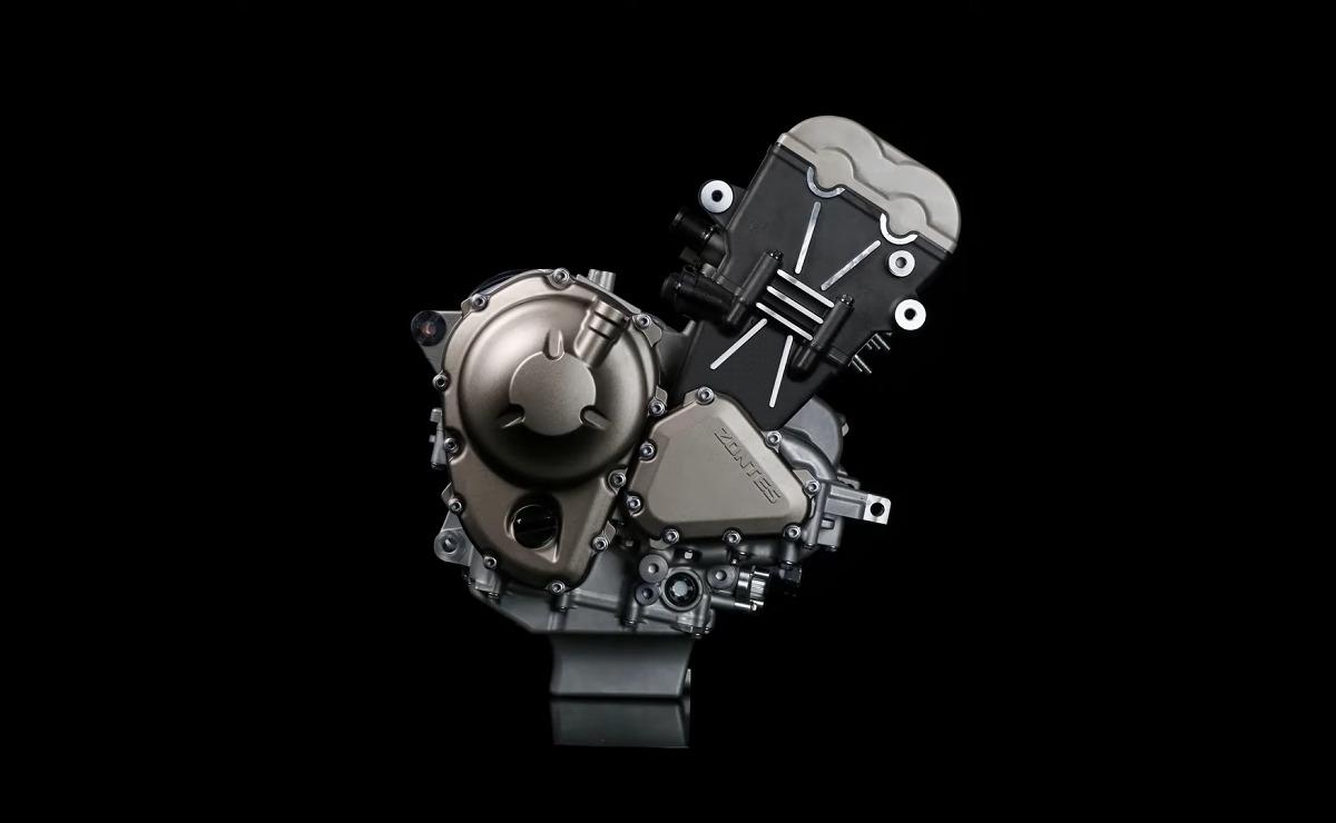 Nuevo motor Zontes fondo negro