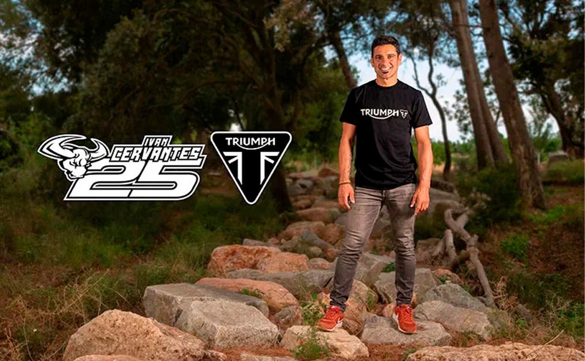 Triumph motocross enduro Iván Cervantes