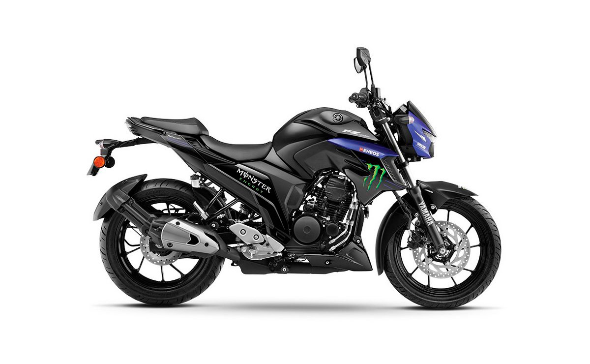 Yamaha FZ25 MotoGP lateral derecho