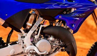 Yamaha YZ 125 motor detalle