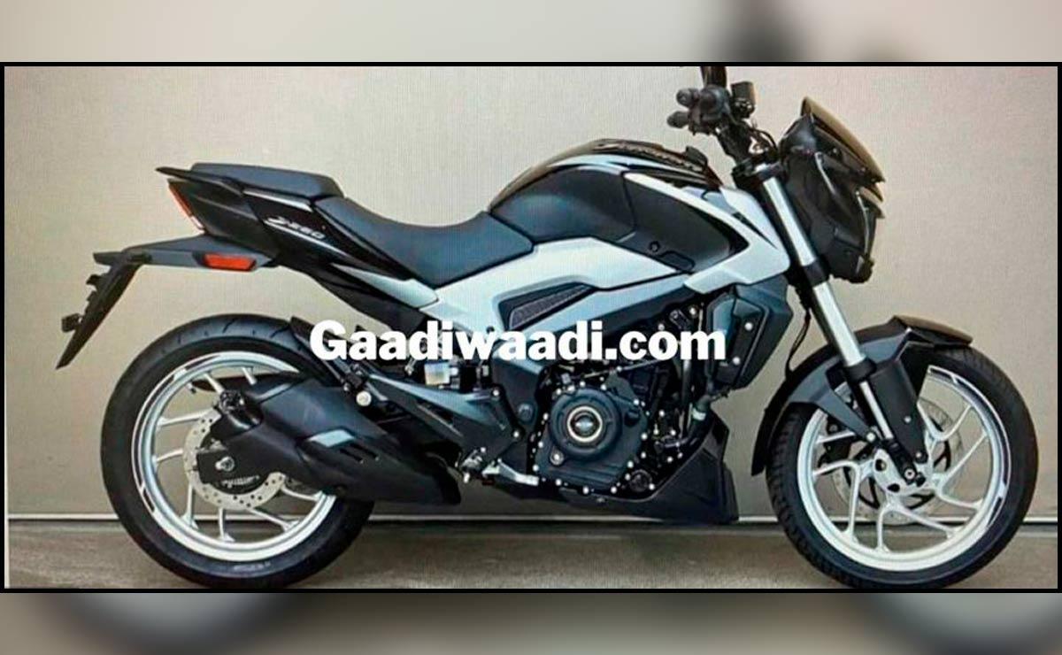 Bajaj Dominar 250 nuevo color blanco y negro