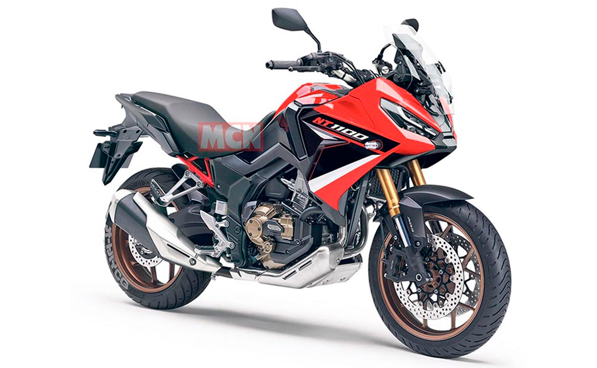 Honda NT1100 roja