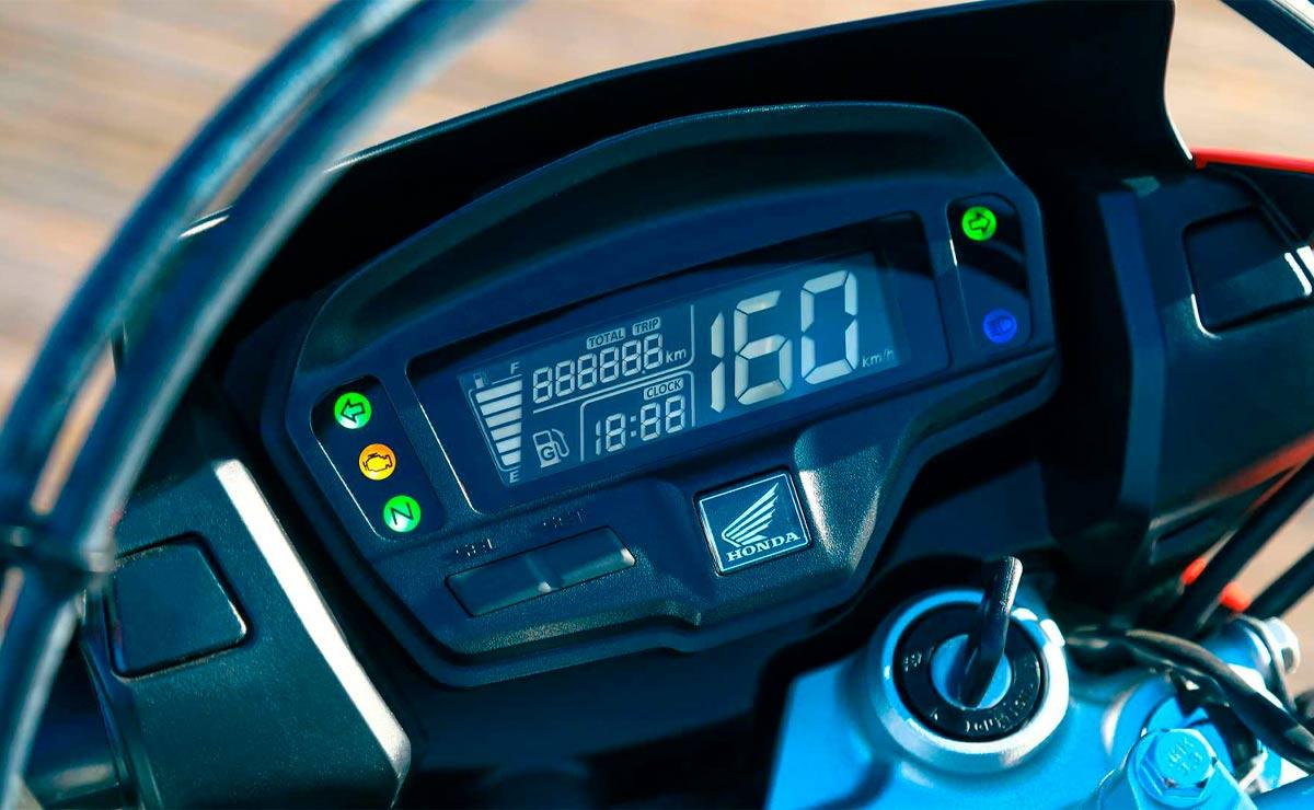 Honda NXR 160 Bros detalle instrumental