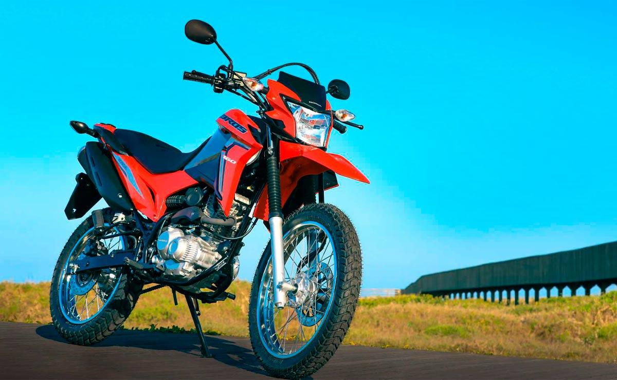 Honda NXR 160 Bros roja