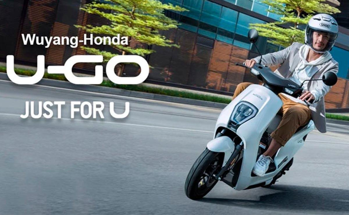 Honda U-GO scooter eléctrico folleto