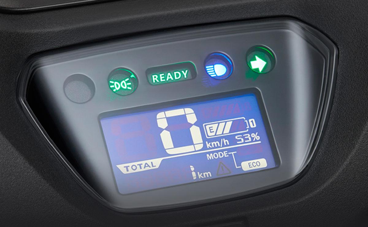 Honda U-GO scooter eléctrico instrumental