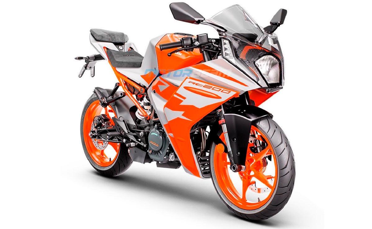 KTM RC 200 2022