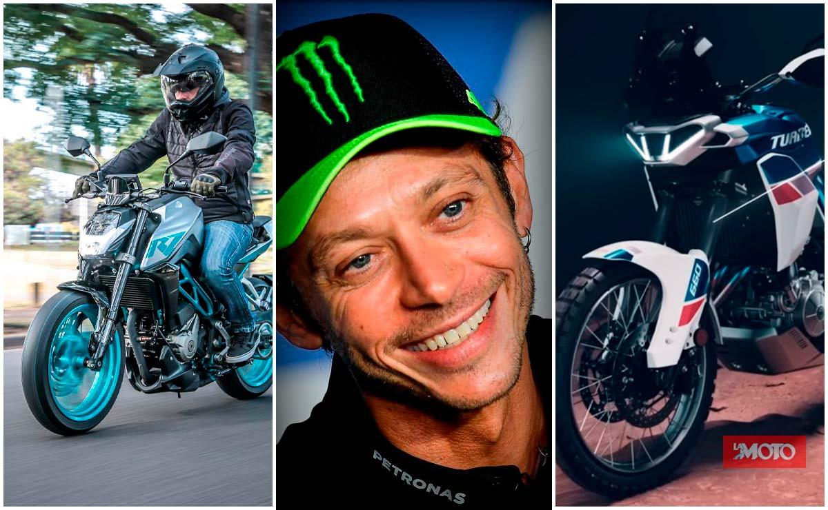 Resumen semanal Bajaj, Aprilia, Honda y la gran noticia de Rossi