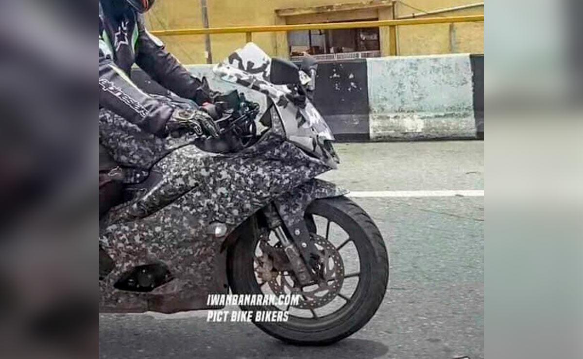 Yamaha novedades gama R foto espía R15 V4