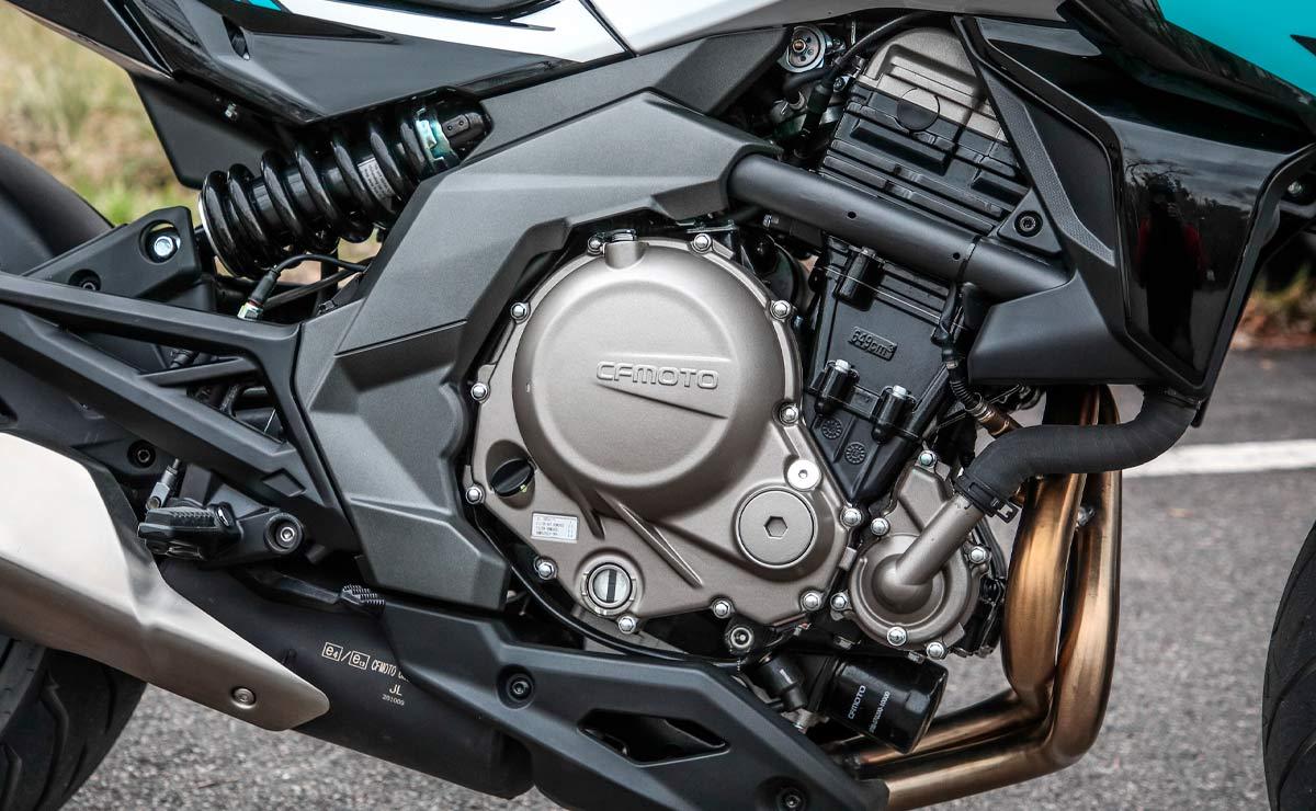 Zanella RZ650 by CFMoto detalle motor