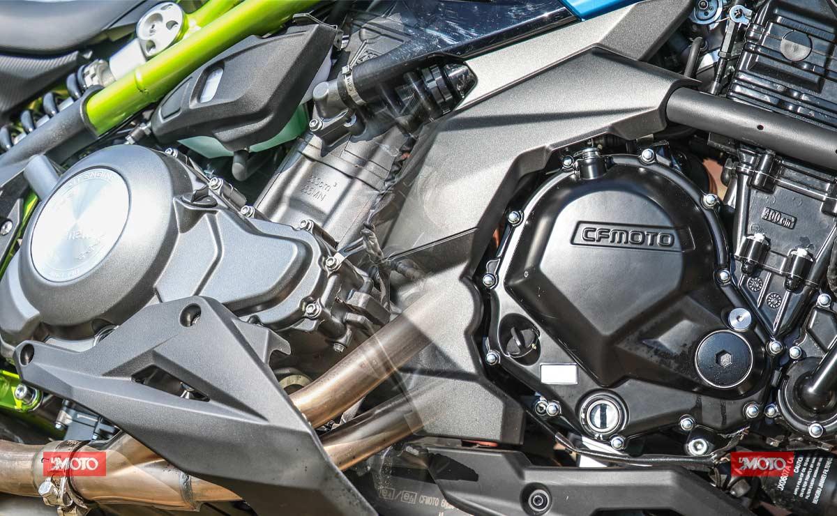 Benelli 302S vs CFMoto RZ400 comparativa motor